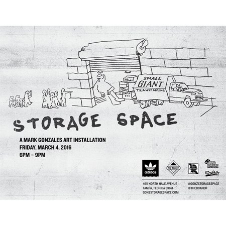 Gonz Storage Space Accessories Skateboarding Gear in Stock Now