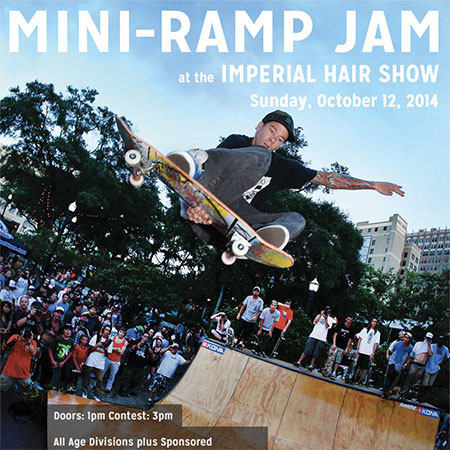 Mini-Ramp Jam at the Imperial Hair Show