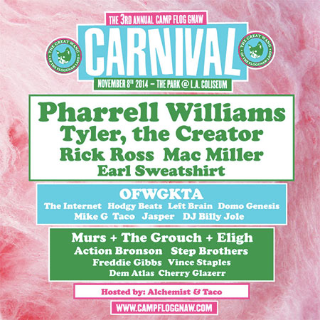 The 3rd Annual Camp Flog Gnaw Carnival