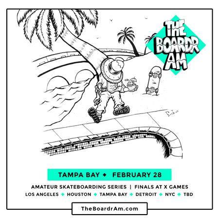 The Boardr Am at Tampa Bay