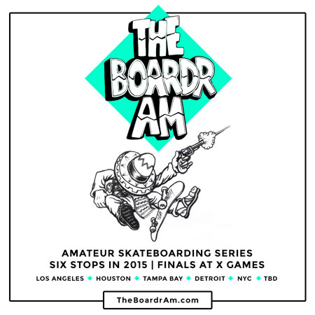 The Boardr Am Finals at X Games Austin