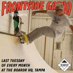 Frontside Grind Tuesdays at The Boardr HQ: Open House Session for 30 and Up