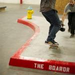 Red Curb Rampage at The Boardr HQ