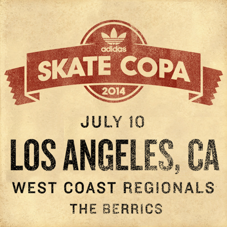 adidas Skate Copa West Coast  Regionals