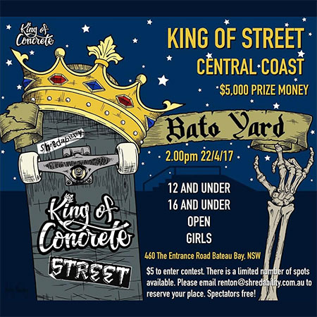 King of Street Central Coast, Australia