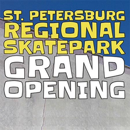 St. Petersburg Regional Skatepark Grand Opening