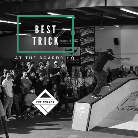 Best Trick and Absolute Value Video Premiere at The Boardr HQ