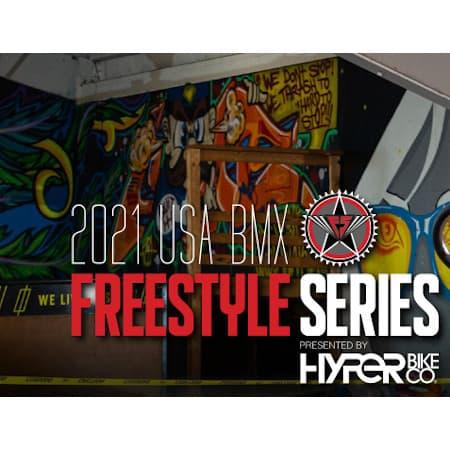 USA BMX Freestyle Series Finals at Tehachapi