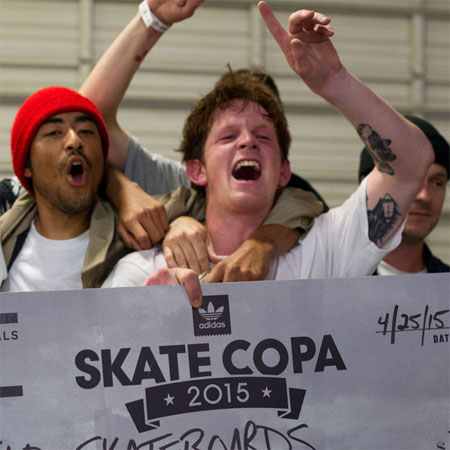 Skateboarding Contest Results