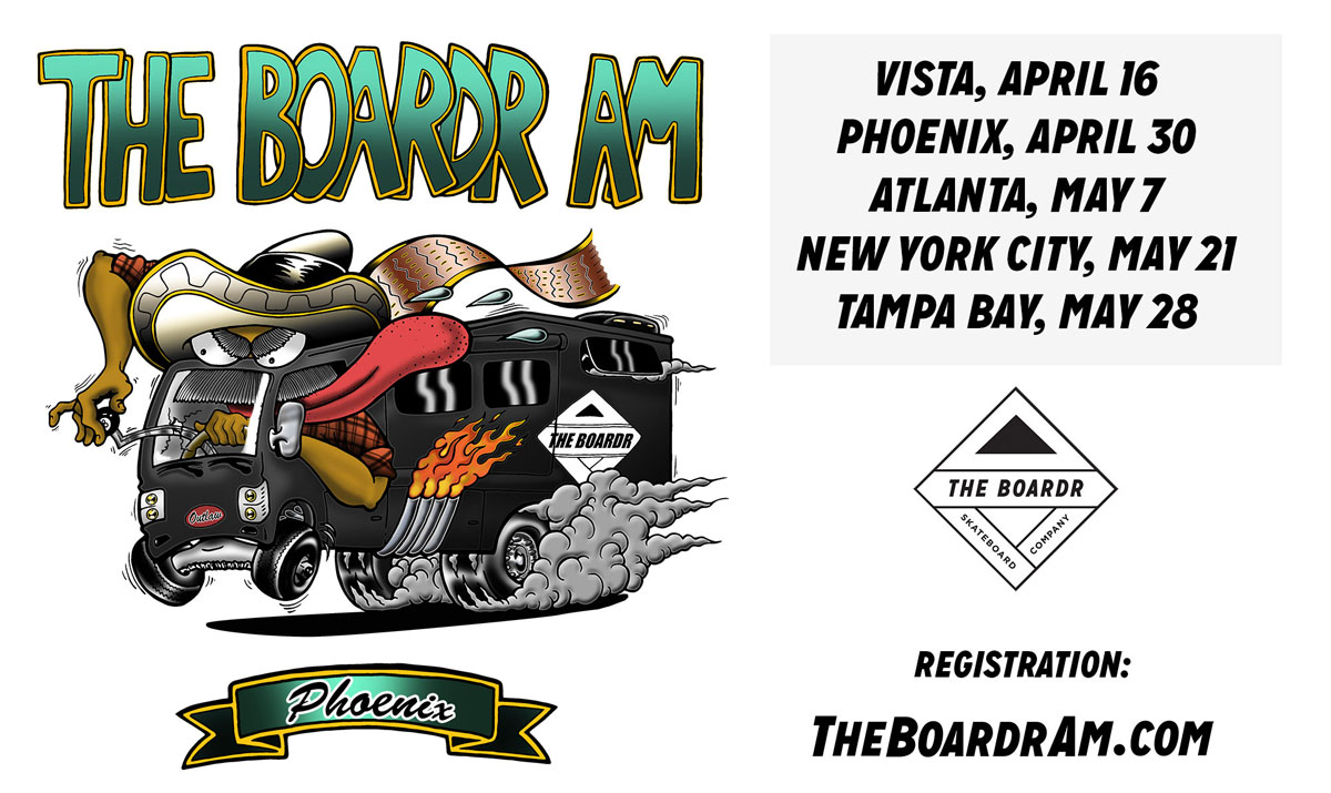 The Boardr Am Skateboarding Series Phoenix