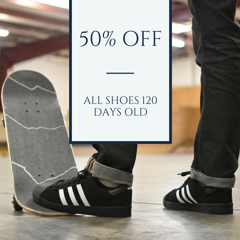 Skateboarding Shoes 50 Percent Off