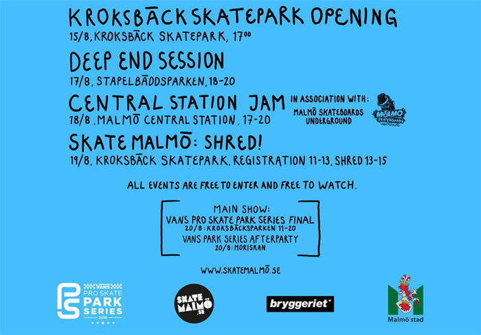 Skate Malmo Presents Side Show