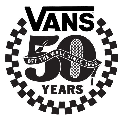 Vans 50 Year Logo