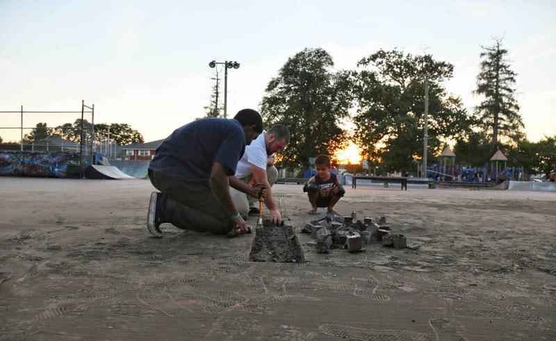 David Bachinsky's Hadley Skatepark Rebuild