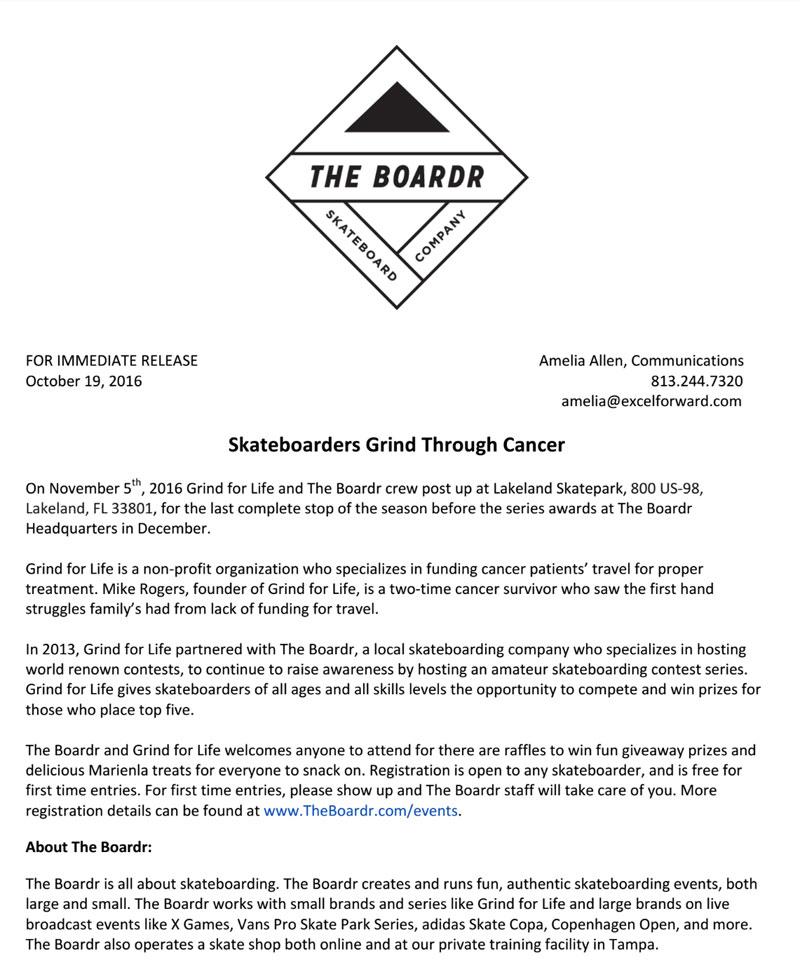 Lakeland Press Release