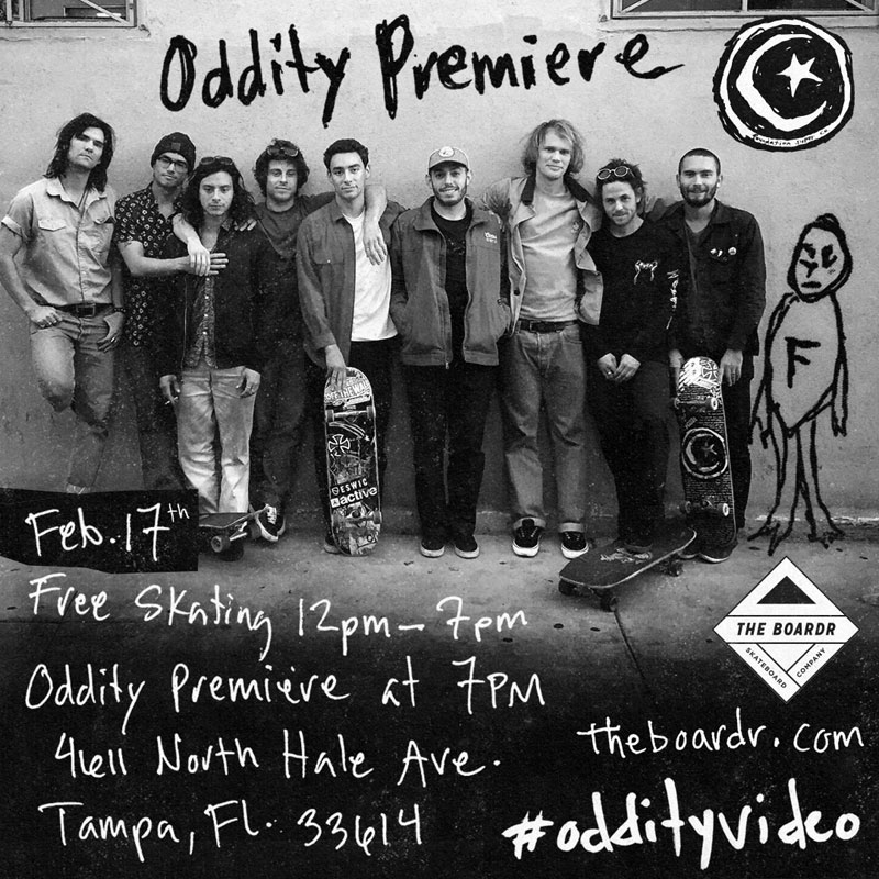 Foundation Oddity Premiere at The Boardr