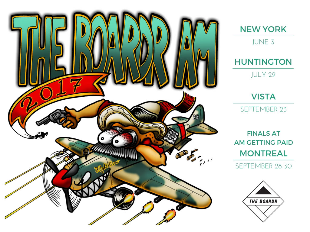 The Boardr Am Skateboarding Series