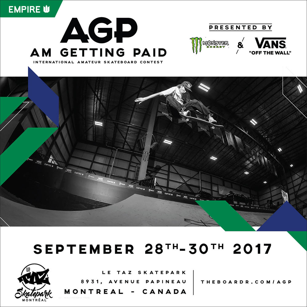 Am Getting Paid 2017 Flyer