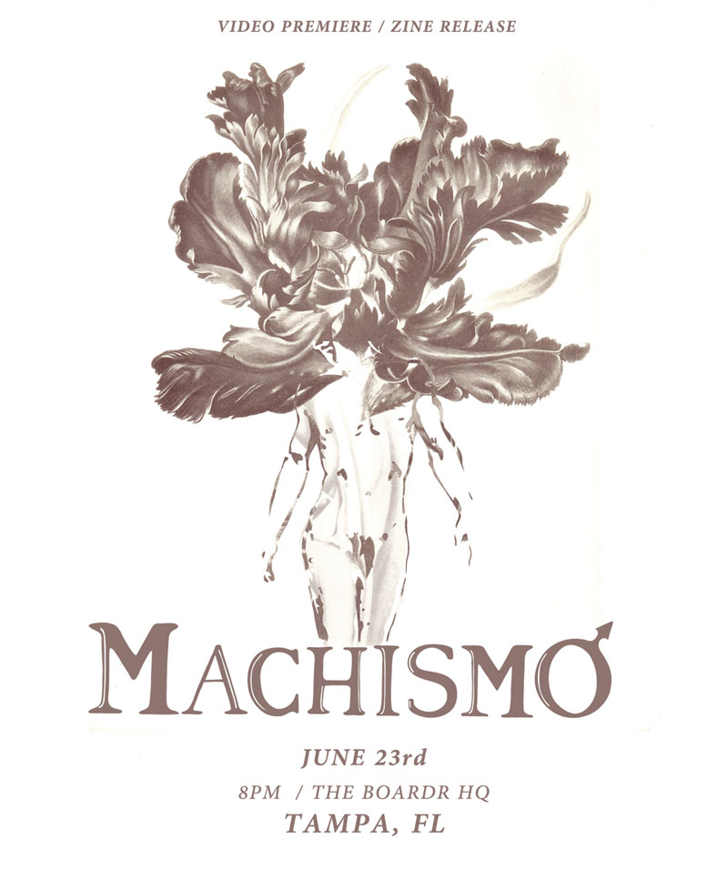 Machismo Flyer