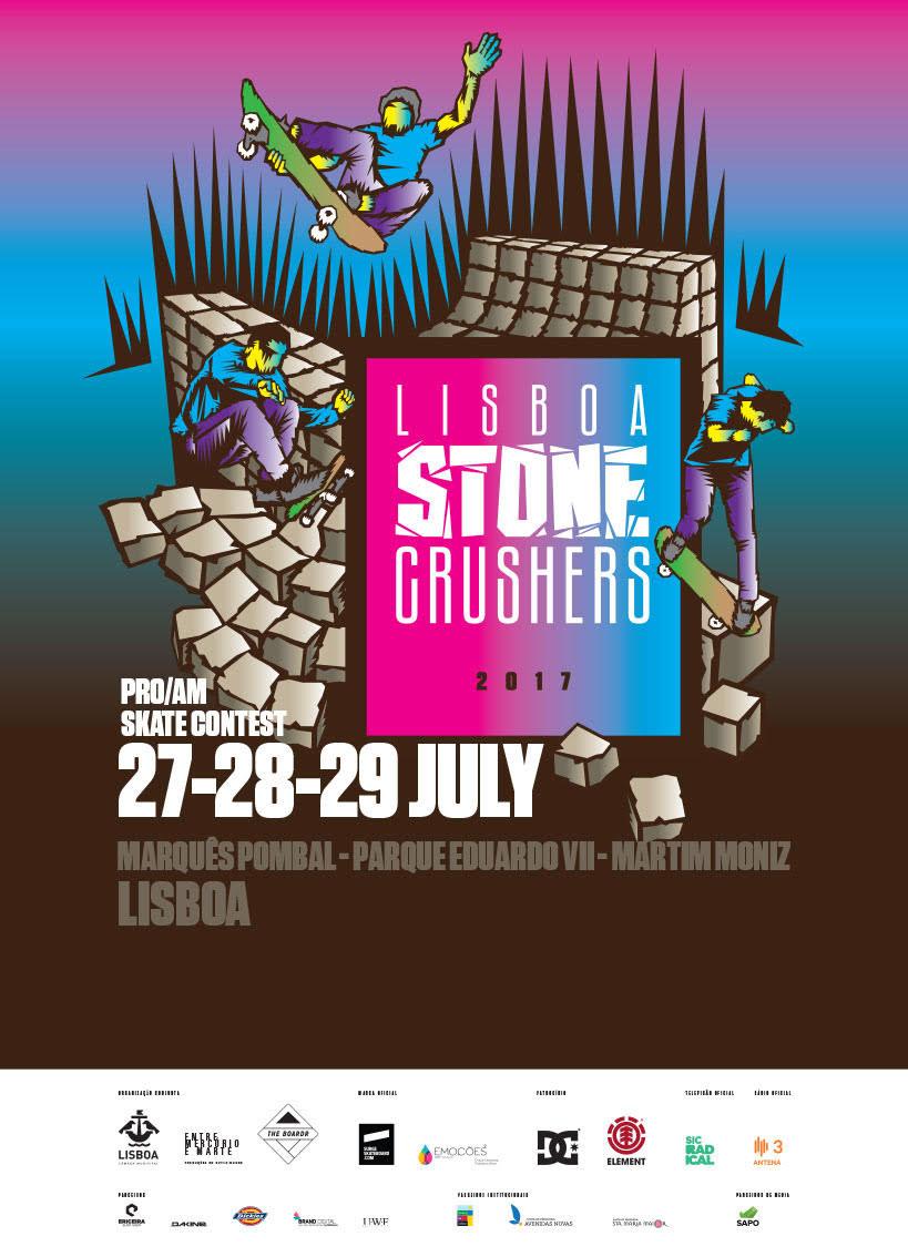 Lisboa Stone Crushers Skateboarding Event Lisbon