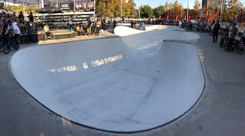 Chile Vans Park Series Course
