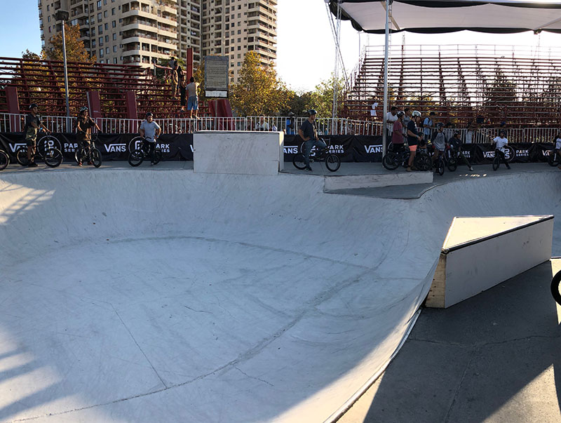 Chile Vans Park Series Course