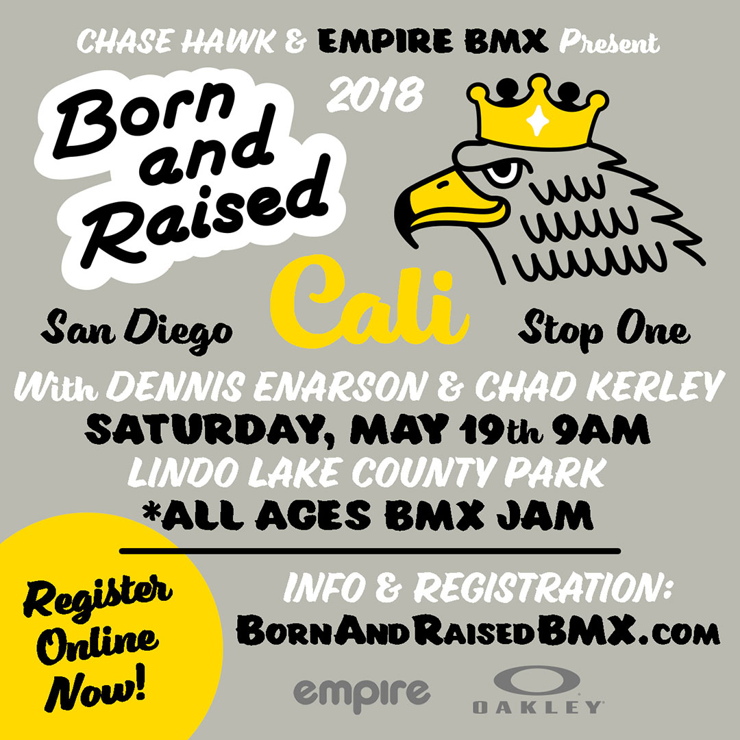 Chase Hawk Born and Raised Flyer