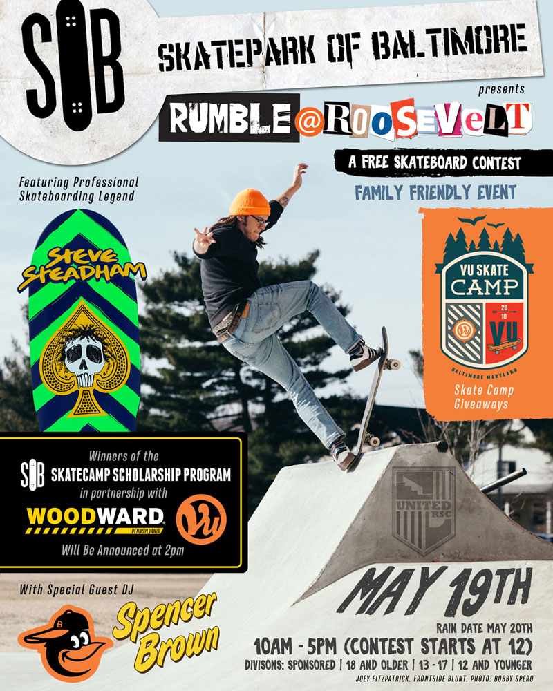 Rumble at Roosevelt Skateboarding Contest