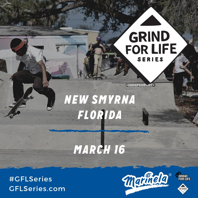 Skateboarding Contest at New Smyrna