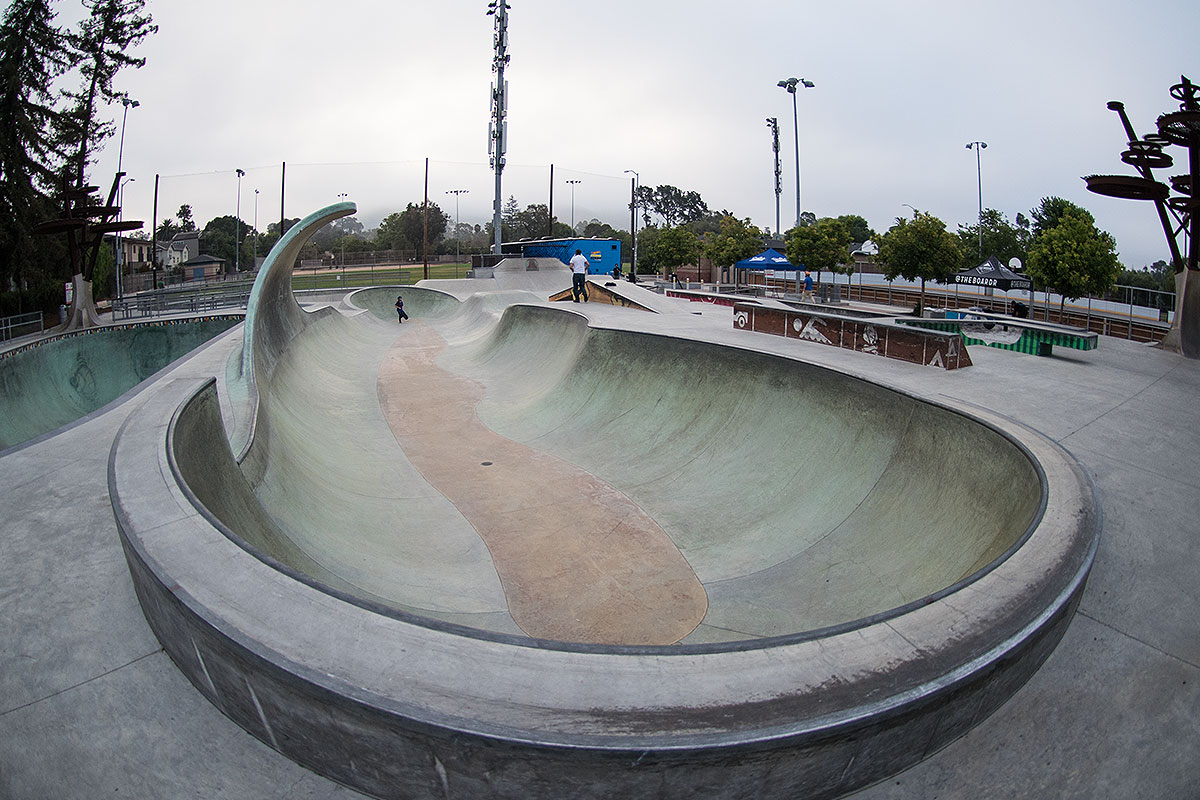 Wave Bowl and San Louis Obispo