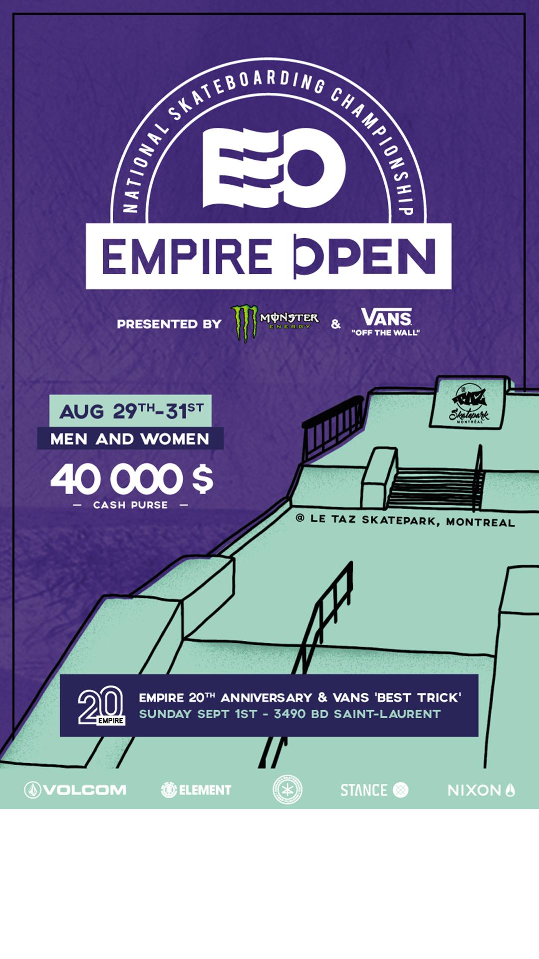 Empire Open 2019