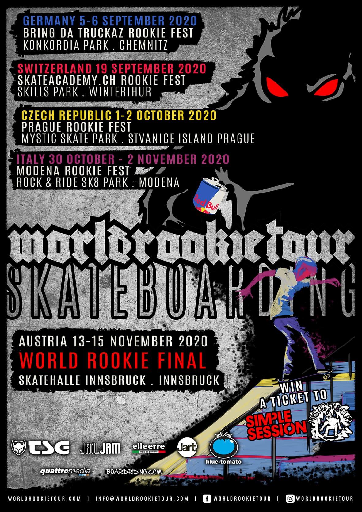 World Rookie Tour Details