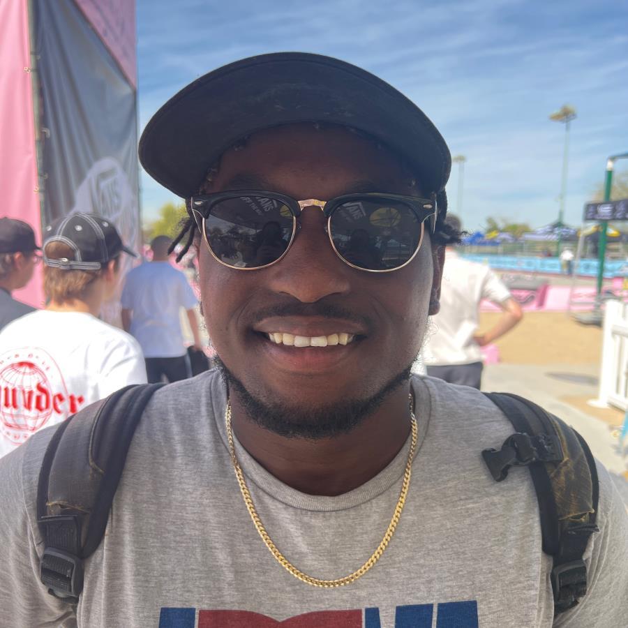 Malik Jones Skateboarding Profile