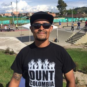 Christian Gaitan from Bogota Colombia Skateboarder Profile