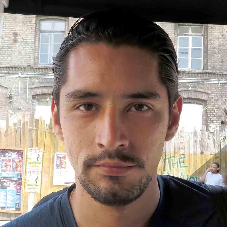 Erick Ramírez Calderon Headshot Photo