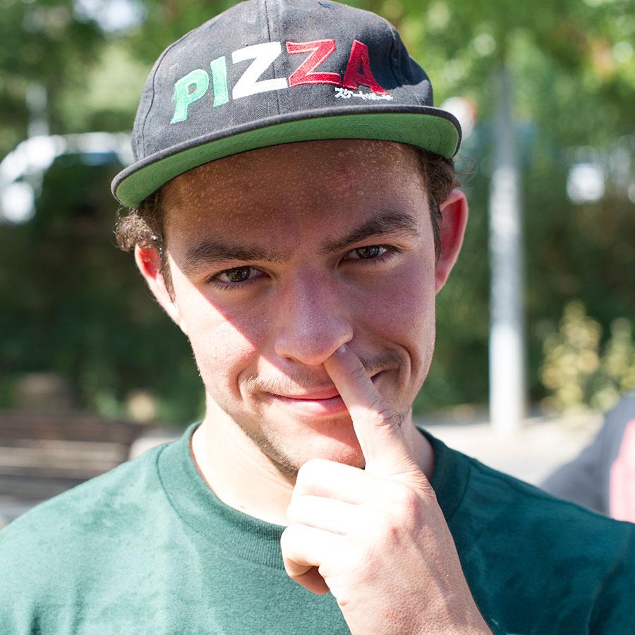 Jesse Vieira Skateboarding Profile