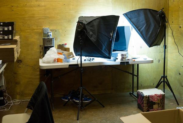 Product Photography Station