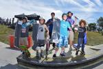 Zion Effs, Nash Barfield, and Tyler Loftus took home the top 3 spots for Street 9 and Under.