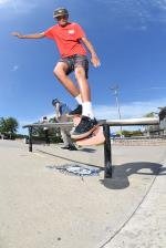 Elijah Allred with the back smith.