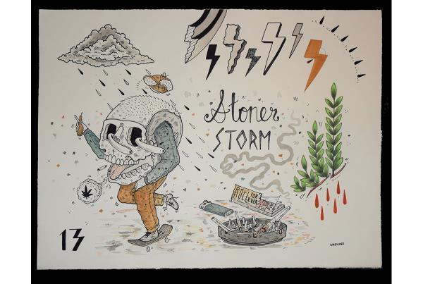 Austin England Stoner Storm