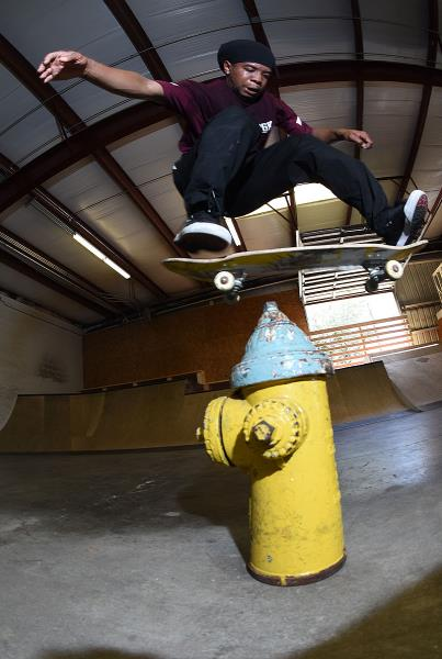 Scenes from The Boardr HQ Free Skate Sessions - BS Flip