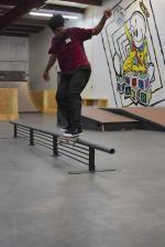 Scenes from The Boardr HQ Free Skate Session - Markus Front Feeble