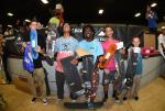 Dillon Brown, Roman Hager, and Tyson Zane took home the top 3 spots for Street Sponsored.