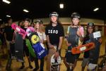Austin Schneider, Roman Desmond, and Kainalu Canubida took home the top 3 spots for Bowl Intermediate.