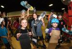 Autumn Tust, Jordan Santana, and Emily Headson took home the top 3 spots for Bowl Girls.