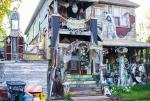 Work and Lurk in Detroit - Ride It Sculpture Neighborhood
