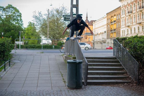 Vans Park Series at Malmo - Rail Ollie