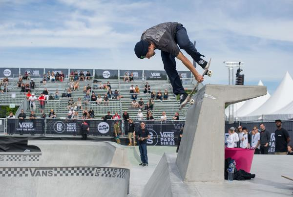 Vans Park Series at Malmo - Back D Indy
