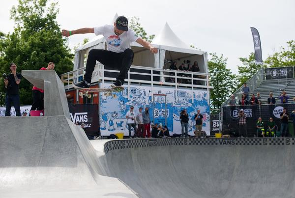 Vans Park Series at Malmo - Rune Off the Deck