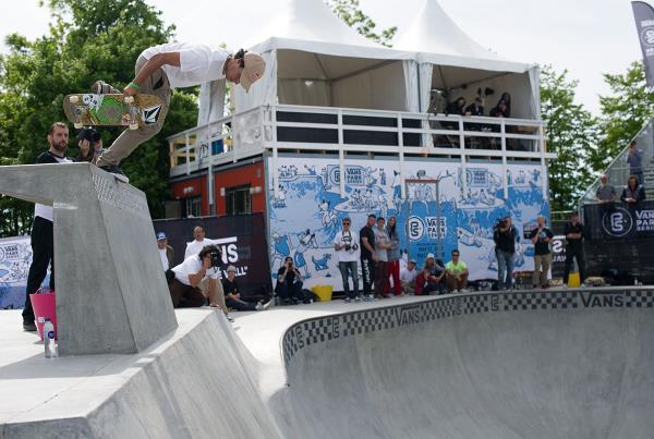 Vans Park Series at Malmo - Back Boneless